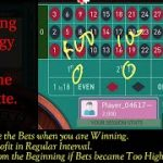 Roulette winning strategy progressive bet system.