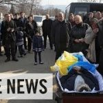 Funeral For Former Ukrainian Nationalist Party Press Secretary: Russian Roulette