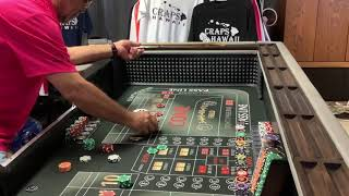 Craps Hawaii – COMBINING the $130 STAYING ALIVE and PRESS – PRESS – PRESS