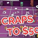 From $5 to $500 POWER PRESS!! Triple Lux Craps System – Part 3