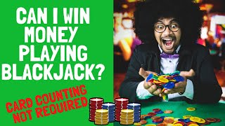 Can I win money by playing Blackjack – No card counting!
