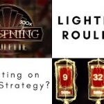 Lightning Roulette Strategy? Betting on Thirds