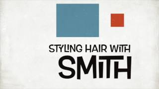 Styling your hair with SMITH Blackjack Wax