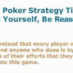 Texas Poker Strategy – The 3 Best Strategy Tips For Always Winning Holdem