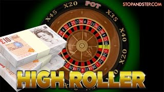 High Roller Roulette **CRAZY STAKES **