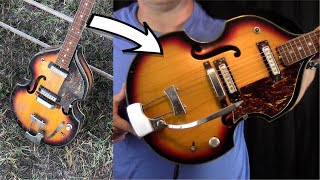 Rescuing a $10 Vintage Guitar from a Yard Sale