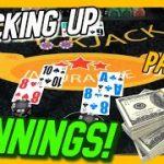 STACKING UP THE WINNINGS! $2500 vs Blackjack Shoe – Part 2!