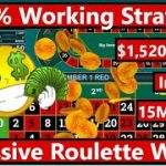 Best Roulette Strategy: $1,520 Profit in 15 Minutes