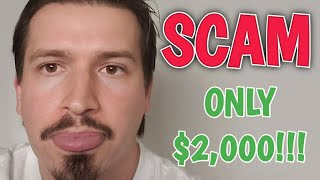 Christopher Mitchell NEW Baccarat SCAM For Only $2,000!!!