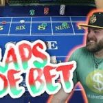CRAPS SIDE BET – Live Craps with Side Bet Sam