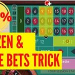 Dozen and Lines Bets to Make You Win | Best Roulette Strategy to Win 2020 100% | Winning Roulette