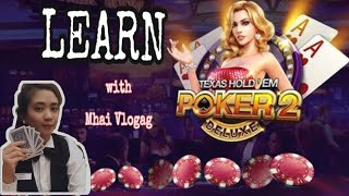 How to Play POKER | Learn With Mhai Vlogag | Casino Dealer