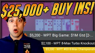 $25,000+ INTENSE SUNDAY GRIND SESSION (Highest Stakes Stream On Twitch!)