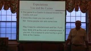 craps 101-lecture 1-why craps?