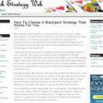 New online Blackjack strategies released