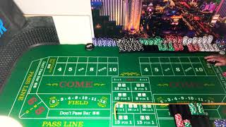 Craps chase the don't craps strategy part 2 of 2