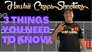 3 Things Every Successful Craps Player Must Know