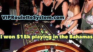 *HD* Best Roulette System. VIP Roulette System. My Trip to the Bahamas!