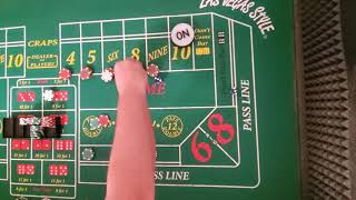 Craps strategy. Playing all the numbers using the field.