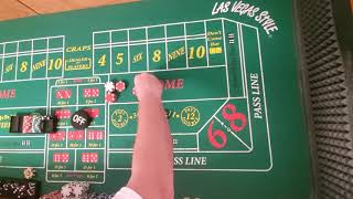 Craps strategy. Anything but 10!!
