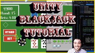 How to Make a Game – Create Blackjack and Learn Unity Fundamentals with Free Assets and Code Part 2