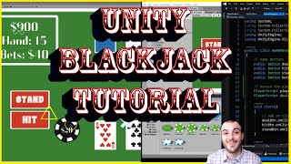 How to Make a Game – Create Blackjack and Learn Unity Fundamentals with Free Assets and Code Part 3