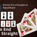 Poker Strategy: Bottom End of Straight on Paired Board