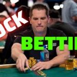 Block betting in Poker