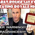 Baccarat Rouge 540 Extrait vs Dua's Casino Royale Nights