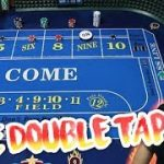 LIVE DOUBLE TAP Craps Strategy | Live Craps Las Vegas