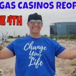 Christopher Mitchell Shares Las Vegas Casinos Reopening June 4th- Las Vegas Strip Tour.