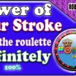 Roulette Strategy to Win | Power of Four Stroke | Roulette sure win strategy