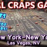 GUY ROLLS OUTSIDE #s! – Live Craps Game #46 – New York-New York, Las Vegas, NV – Inside the Casino
