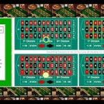 """Roulette Strategy with 1 """"Six line"""" bet and doubling for each new spins if spin loss."""