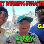 Christopher Mitchell Baccarat Winning Strategy Day 8- Las Vegas Casino's With Gary & Lucy.