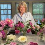 Flower arrangements with Martha Stewart and Baccarat