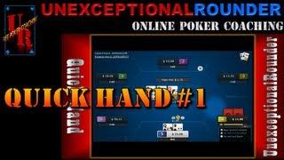 Texas Holdem Poker Online – Hand Review 25nl Heads Up Cash Hold em – HU Online Poker Bovada