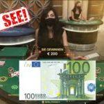Blackjack Strategy Live Casino – 100€ Bet!