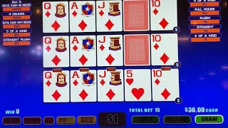 Oh the Big Boy draw!! $15 a poke @ Soaring Eagle Casino. High limit room.