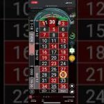 Winning Roulette strategy – live session Skybet – nice double Boom