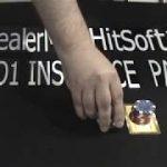 BlackJack Strategy Demo ( double deck $50.00 bankroll )