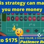 Roulette Strategy to Win – Red Color and 2 Columns Strategy | Roulette Strategy Always Win