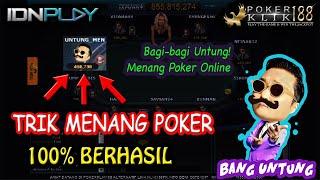 Mau Menang Terus Menerus Main Poker Online? Inilah Tips Bermain Poker Paling Mujarab | BANG UNTUNG