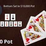 Poker Strategy: Bottom Set In $10,000 Pot