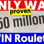 Only PROVEN Way to Win Roulette! (True Winners)