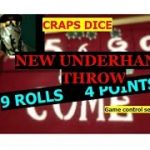 Craps Dice Game Control Sets