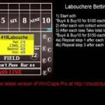 """Labouchere Betting on 4 & 10"" How to play craps nation strategies & tutorials 2020"