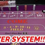 "NEW CRAPS SYSTEM – ""The Tower"" – Dice System Development #1"