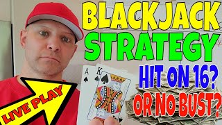 Blackjack Strategy & Tips- Christopher Mitchell Plays 8 Deck Blackjack LIVE (Documented Results).
