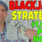Blackjack Strategy & Tips- Christopher Mitchell Reveals All His Secrets- Make $1,000 Per Hour.